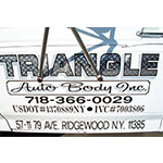 Triangle Auto body